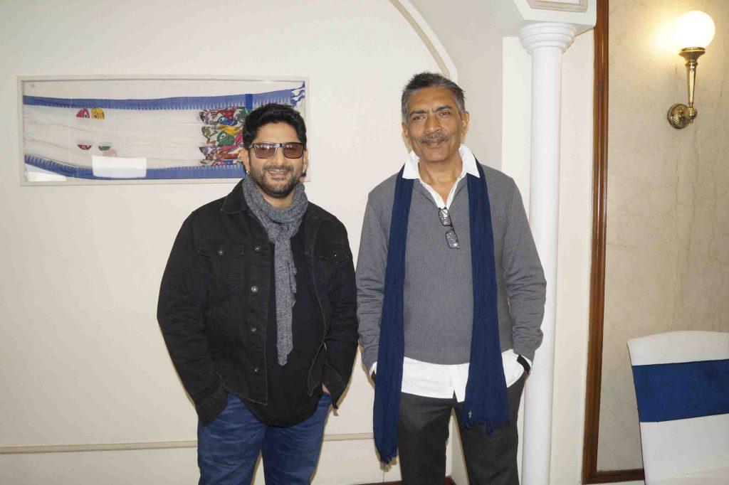 अरशद वारसी और प्रकाश झा ने दिल्ली में फिल्म 'फ्रॉड सैयां' का प्रमोशन किया 9