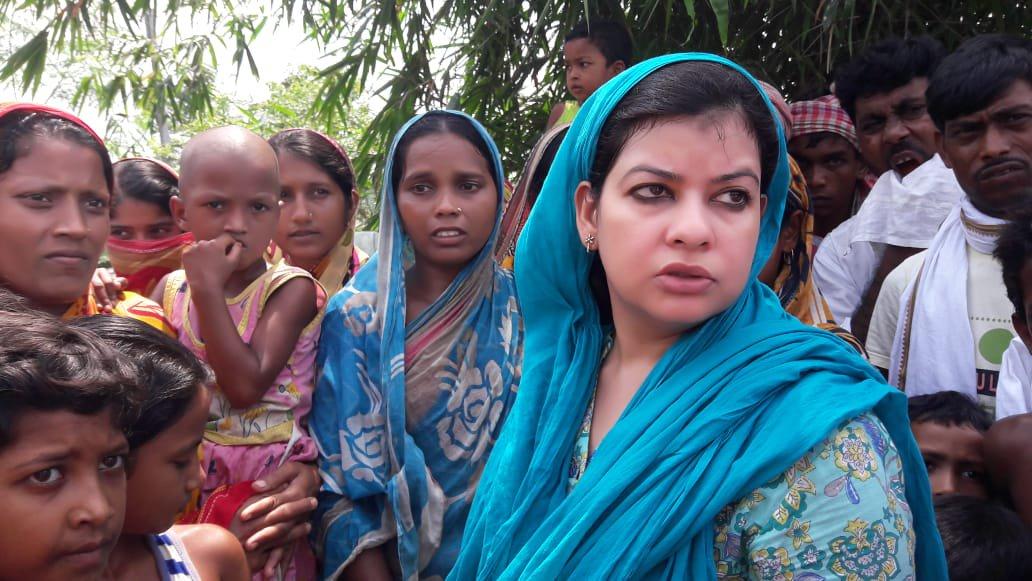 पश्चिम बंगाल: नॉर्थ मालदा से कांग्रेस सासंद मौसम नूर TMC में शामिल हुईं 4