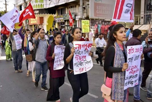 असोम गण परिषद ने दी धमकी- 'नागरिकता संशोधन विधेयक को संसद में पारित कराया तो बीजेपी से तोड़ देंगे गठबंधन' 1