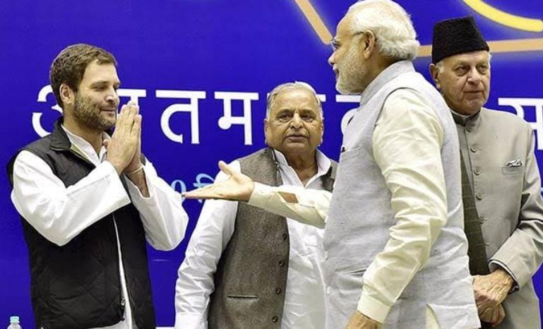 क्या सपा- बसपा गठबंधन से कांग्रेस और बीजेपी दोनों परेशान है? 1