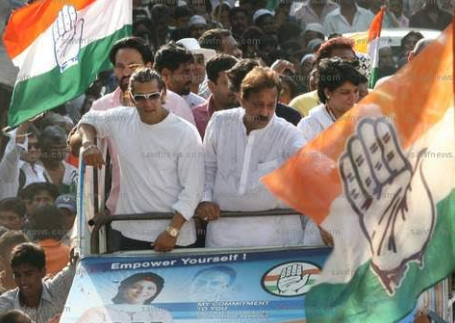 कांग्रेस के टिकट पर सलमान खान को चुनाव लड़ाने की मांग! 2