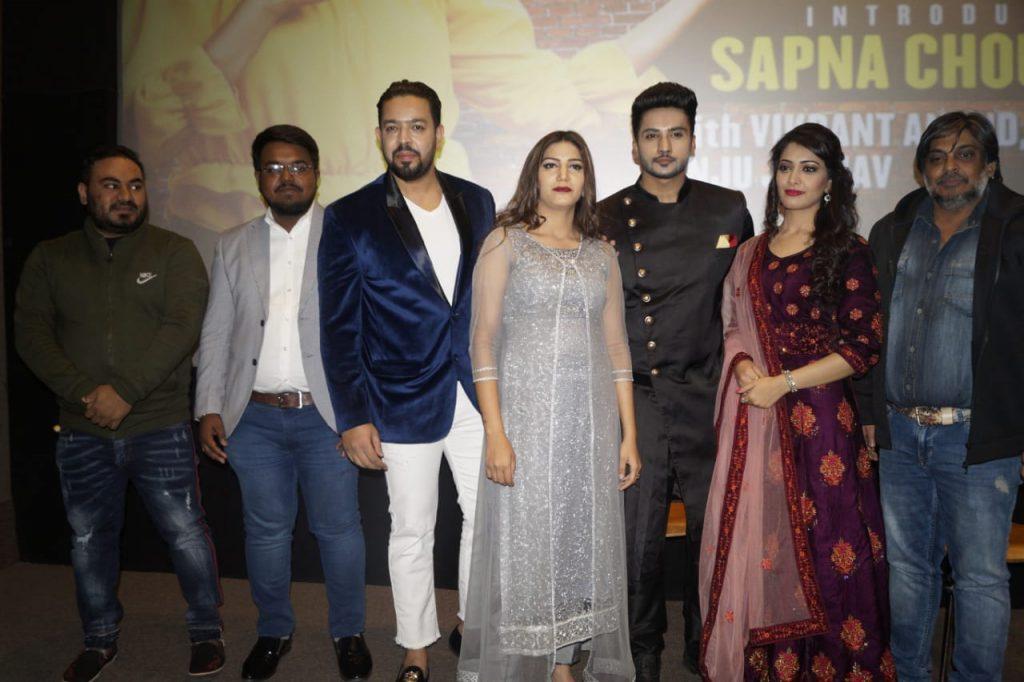 सपना चौधरी ने दिल्ली में लॉन्च किया अपनी डेब्यू फिल्म का ट्रेलर 11