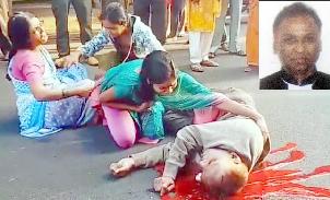 नारायण गौड़ा पर सड़क दुर्घटना, वकील हलाक 2