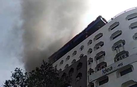 हैदराबाद के ख़ान लतीफ़ ख़ान स्टेट में भयानक आग लगने की घटना 2