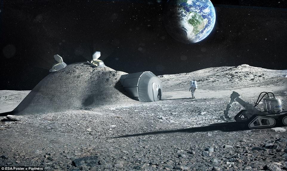 यूरोप 2025 तक चंद्रमा में माईनिंग के लिए खदान बनाना चाहता है, योजना की घोषणा हुई 10