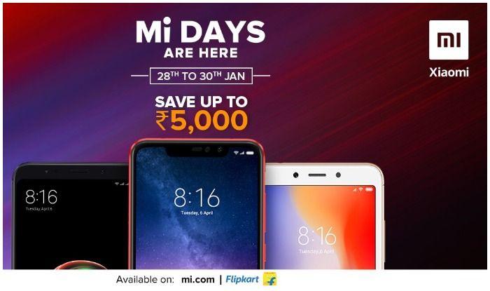 फ्लिपकार्ट पर आज से शुरू हो रहा है Mi sale, 5000 तक सस्ते मिल रहे हैं फोन 2