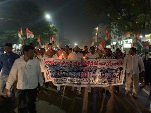 पुलवामा हमला: तेलंगाना में भी मुस्लिमों ने किया प्रदर्शन, दुश्मनों को कड़ा संदेश 2
