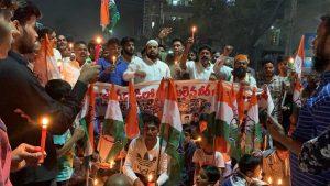 पुलवामा हमला: तेलंगाना में भी मुस्लिमों ने किया प्रदर्शन, दुश्मनों को कड़ा संदेश 3