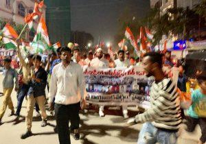 पुलवामा हमला: तेलंगाना में भी मुस्लिमों ने किया प्रदर्शन, दुश्मनों को कड़ा संदेश 6