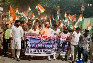 पुलवामा हमला: तेलंगाना में भी मुस्लिमों ने किया प्रदर्शन, दुश्मनों को कड़ा संदेश 7
