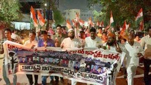 पुलवामा हमला: तेलंगाना में भी मुस्लिमों ने किया प्रदर्शन, दुश्मनों को कड़ा संदेश 8
