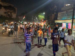 पुलवामा हमला: तेलंगाना में भी मुस्लिमों ने किया प्रदर्शन, दुश्मनों को कड़ा संदेश 10