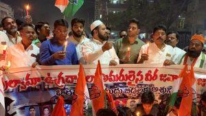 पुलवामा हमला: तेलंगाना में भी मुस्लिमों ने किया प्रदर्शन, दुश्मनों को कड़ा संदेश 12