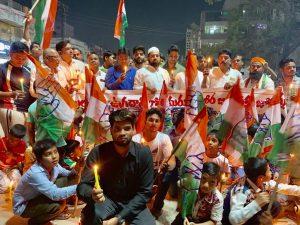 पुलवामा हमला: तेलंगाना में भी मुस्लिमों ने किया प्रदर्शन, दुश्मनों को कड़ा संदेश 17