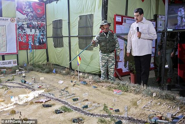 राष्ट्रपति मादुरो ने वेनेजुएला के इतिहास में सबसे बड़ी सैन्य अभ्यास शुरू किया 3