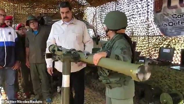 राष्ट्रपति मादुरो ने वेनेजुएला के इतिहास में सबसे बड़ी सैन्य अभ्यास शुरू किया 1