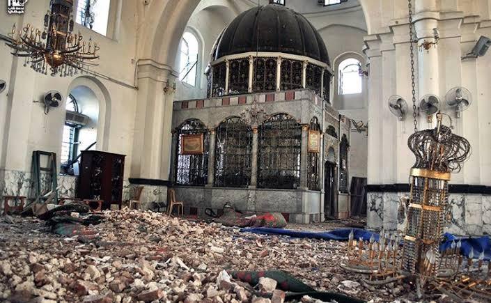 VIDEO : खालिद बिन वलीद की कब्र और मस्जिद जिसे नष्ट कर दिया गया था, जीर्णोद्धार के बाद का दृश्य देखें 20