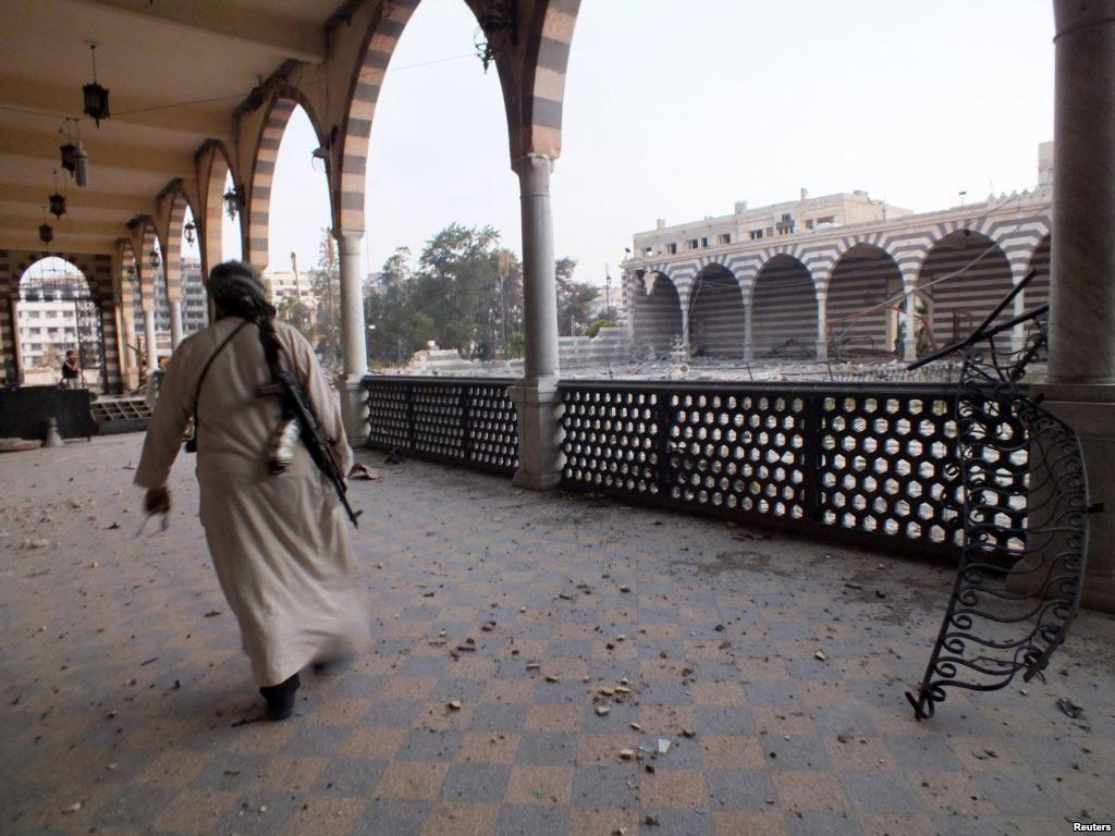 VIDEO : खालिद बिन वलीद की कब्र और मस्जिद जिसे नष्ट कर दिया गया था, जीर्णोद्धार के बाद का दृश्य देखें 1