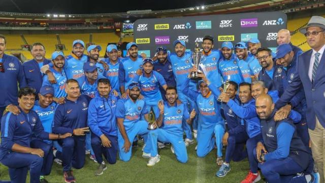 न्यूजीलैंड में भारत की सबसे बड़ी जीत, मुहम्मद शमी बने मैन ऑफ द सीरीज 7