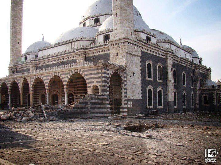 VIDEO : खालिद बिन वलीद की कब्र और मस्जिद जिसे नष्ट कर दिया गया था, जीर्णोद्धार के बाद का दृश्य देखें 2