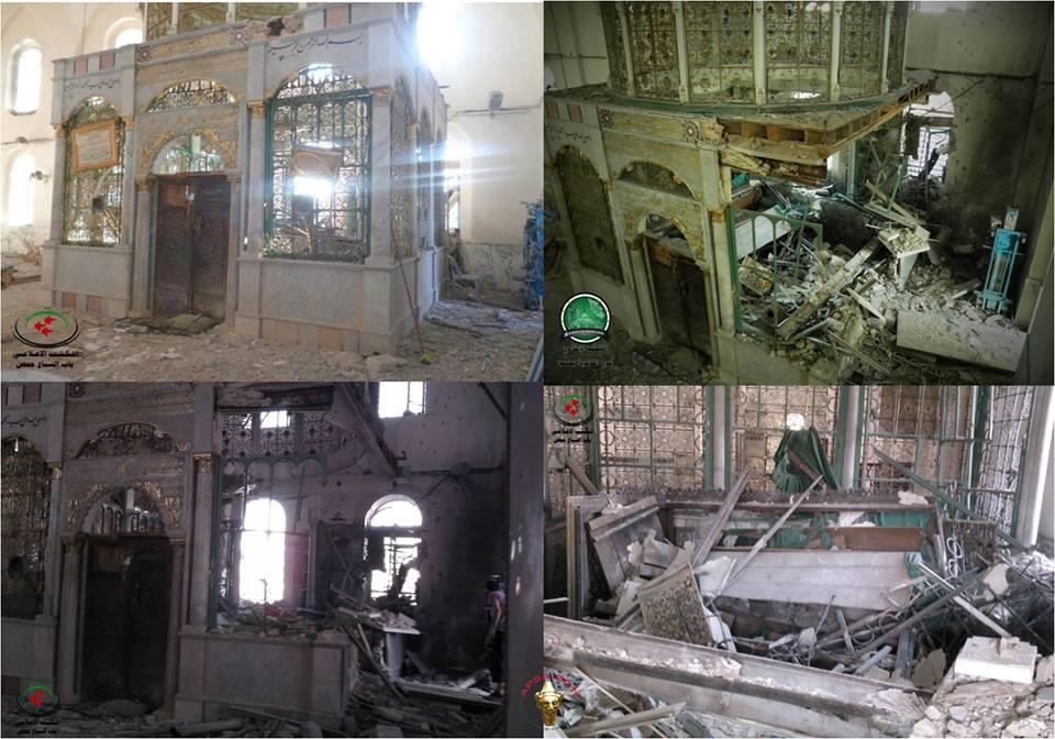 VIDEO : खालिद बिन वलीद की कब्र और मस्जिद जिसे नष्ट कर दिया गया था, जीर्णोद्धार के बाद का दृश्य देखें 4