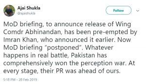 दुनिया में हो रही इमरान खान की तारीफ़, देखें, सोशल मीडिया पर महान हस्तियों के कमेंट्स! 6