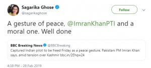 दुनिया में हो रही इमरान खान की तारीफ़, देखें, सोशल मीडिया पर महान हस्तियों के कमेंट्स! 8