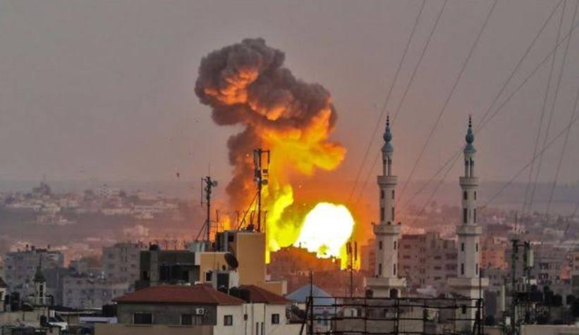 गाज़ा पट्टी पर इजरायली हमलें से भड़क सकती है हिंसा! 2