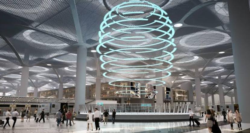 VIDEO & PICS: इस इस्लामिक देश ने बनाया दुनिया का सबसे बड़ा एयरपोर्ट! 10