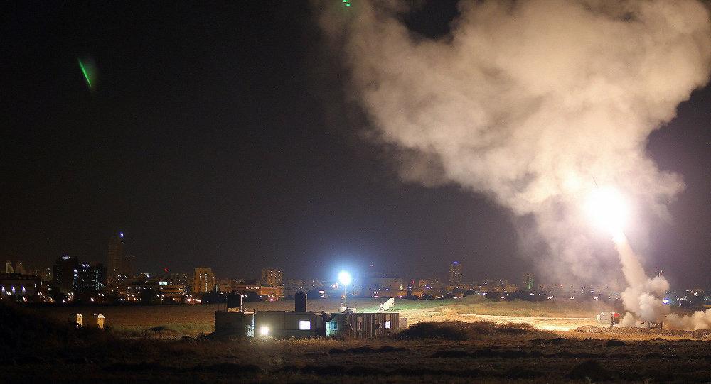 VIDEO : 2014 के बाद पहली बार तेल अवीव की ओर दागी गइ मिसाइलें 7