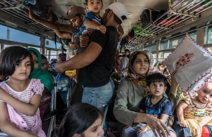 श्रीलंका में मुस्लिम शरणार्थियों पर हिंसक हमला! 8