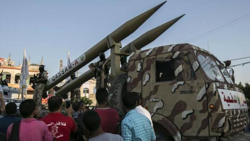 हमास की मिसाइलों ने इजरायल को काफी तबाही पहुंचाया है! 3