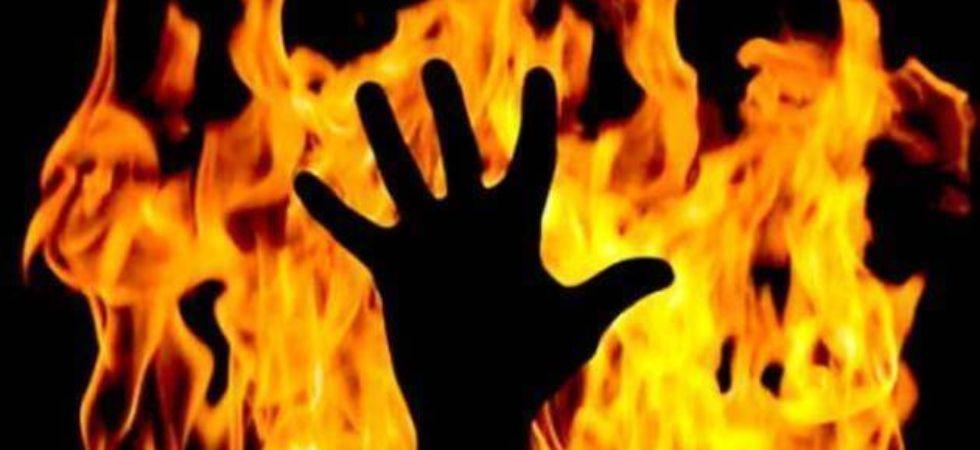 बलात्कार की नाकाम कोशिश महिला को लगादी आग 2
