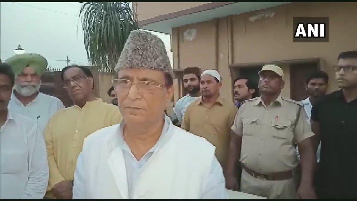 इस मुस्लिम शख्स ने आजम खां की गिरफ्तारी पर 50 हजार रुपये के इनाम की घोषणा की ! 15