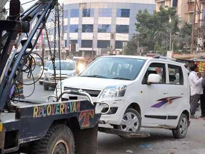 दिल्ली में दिनदहाड़े खुलेआम क्रेन से 100 से ज्यादा कारों की चोरी 3