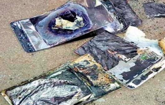 बात करने के दौरान सेल फ़ोन जल गया, निज़ामाबाद में घटना 2