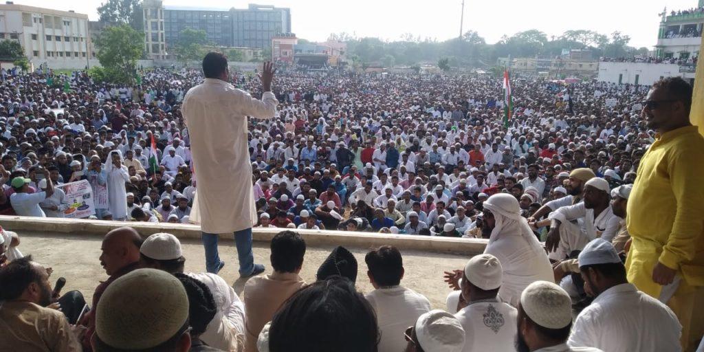 झारखंड : मॉब लिंचिंग के खिलाफ आक्रोश सभा, वापसी पर हिंसा, लाठीचार्ज, जुलूस में शामिल लोगों पर ही FIR का आदेश 2