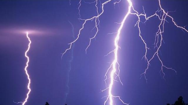 हैदराबाद में बिजली गिरने की घटना
