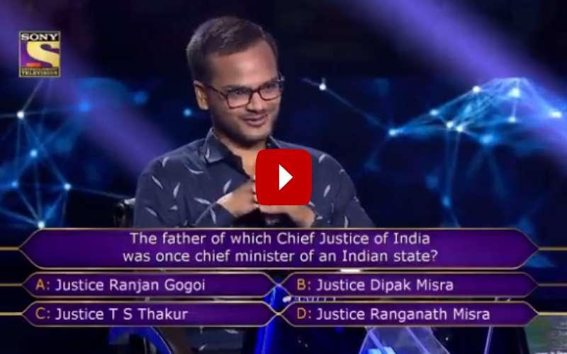 विडियो- मिलिए KBC 11 के पहले करोड़पति से जो सात करोड़ से चूक गए ! 18