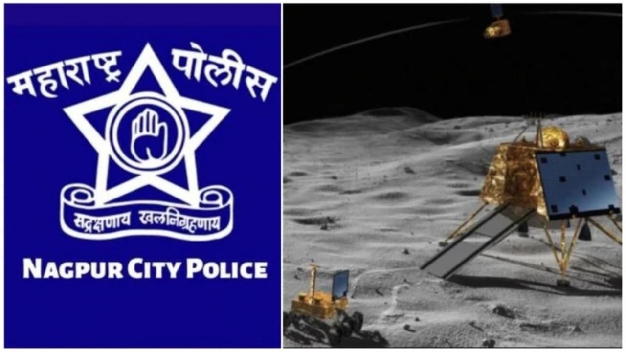 नागपुर पुलिस ने ट्वीट कर 'लैंडर विक्रम' से की अपील,कहा सिग्नल तोड़ने के लिए नहीं काटेंगे चालान 22