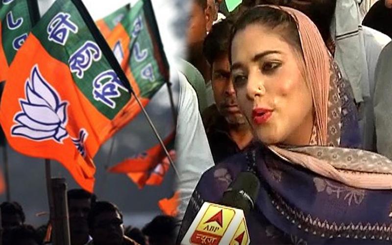 VIDEO- लंदन में पढ़ी इस मुस्लिम महिला को BJP ने दिया टिकट, जानियें कौन हैं नौकशाम चौधरी? 17
