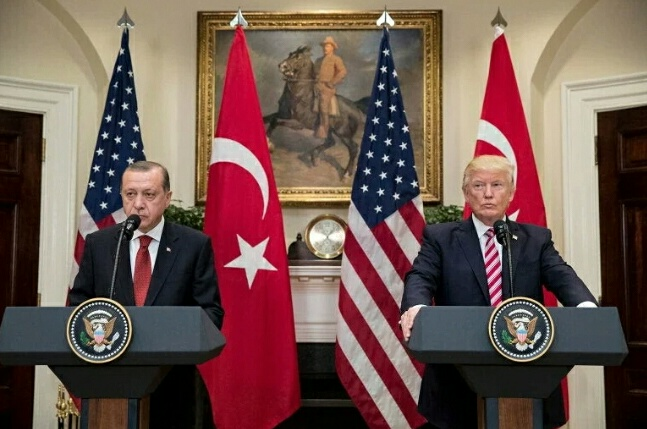 एर्दोगन ने कह दिया था- 'अमेरिका साथ दे या रास्ते से हटे'