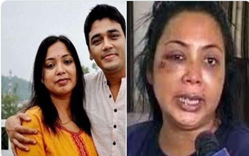 फेक अलर्ट – मुस्लिम पति द्वारा हिन्दू पत्नी को पीटने के दावे की फोटो निकली फ़र्ज़ी !