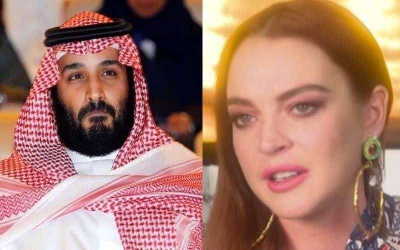 VIDEO: क्या सऊदी क्राउन प्रिंस मोहम्मद बिन सलमान को डेट कर रही हैं लिंडसे लोहान? 3