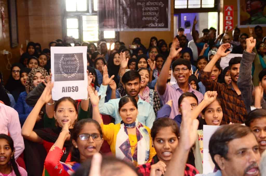 हैदराबाद: सीएए, एनआरसी के खिलाफ डॉक्टरों ने किया विरोध प्रदर्शन 1