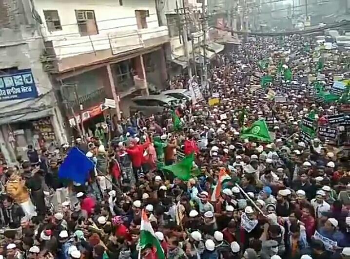 VIDEO: CAA और NRC के खिलाफ़ पंजाब के लुधियाना में विरोध प्रदर्शन! 10