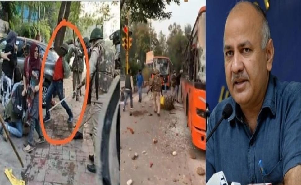 क्या पुलिस ने लगाई थी बस में आग? जानिए वायरल वीडियो का सच ? 20