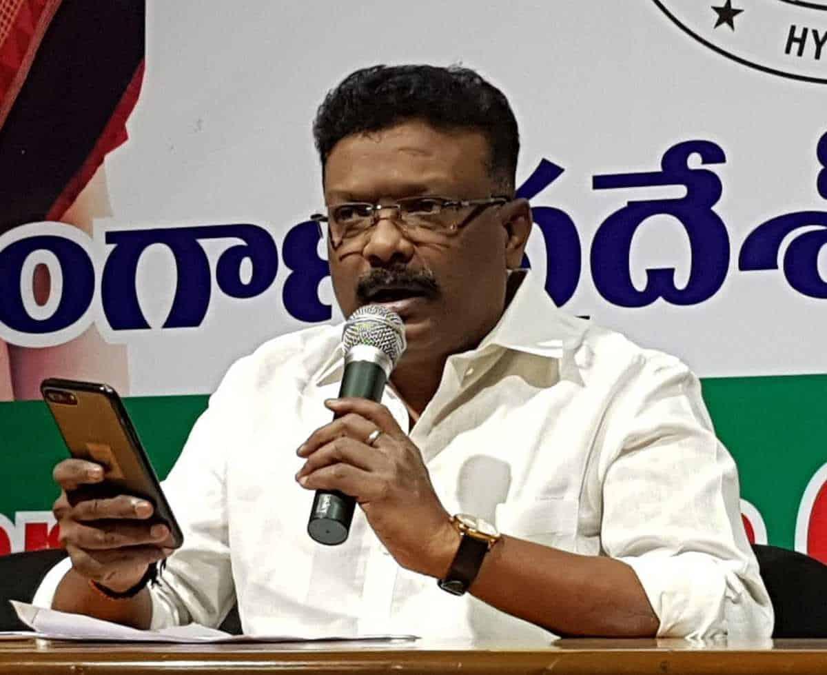 टीएस: कांग्रेस ने मंत्री के खिलाफ भ्रष्टाचार के मामले की मांग की 9