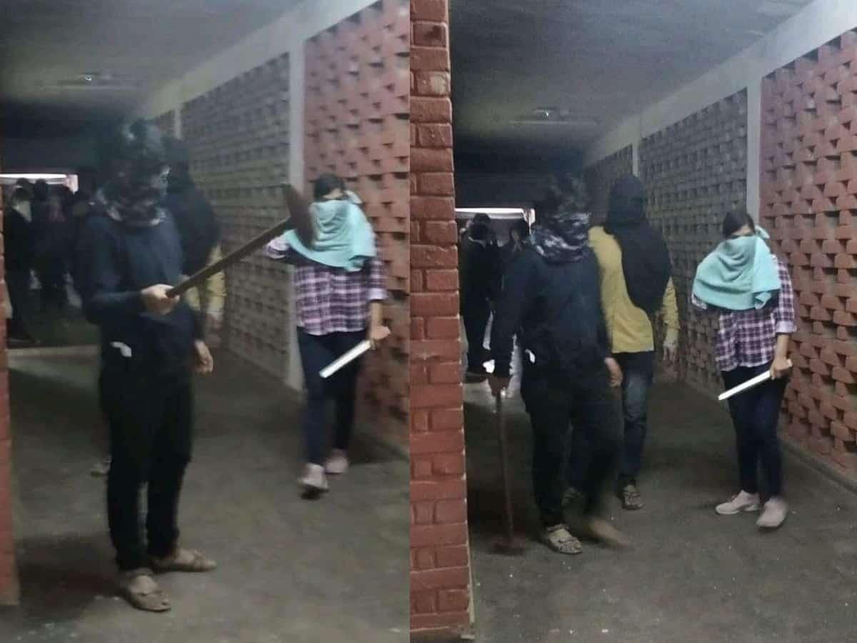 JNU- नकाबपोशों की हुई पहचान, पुलिस जल्द कर सकती है गिरफ्तारी 2