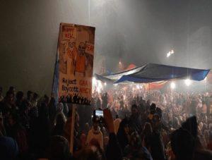 जामिया में राष्ट्रगान 'जन गण मन' गाकर किया गया नये साल का स्वागत! 1